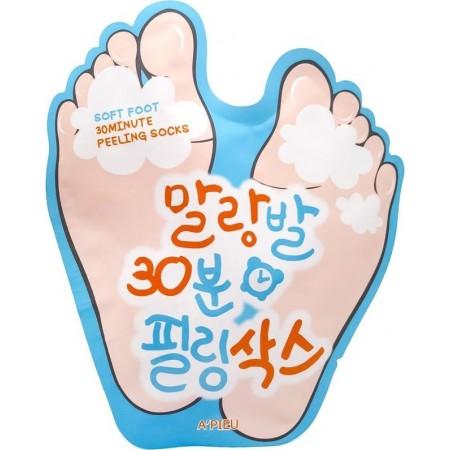 A'pieu Soft Foot Peeling Socks Носки-пилинг для стоп, 40 мл
