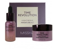 Missha Time Revolution Night Repair Probio Набор антивозрастного ухода для лица в миниатюрах , 240 мл