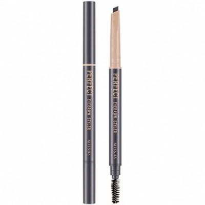 Missha Perfect Eyebrow Styler Gray Карандаш для бровей серый, с щеточкой, 0,35 гр.