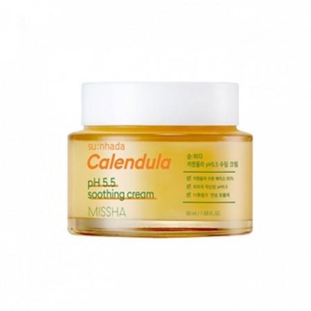 MISSHA Su:Nhada Calendula pH Крем успокаивающий для чувствительной кожи, 50 мл