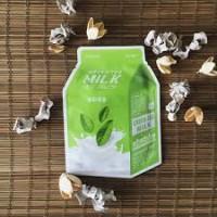 A'pieu Тканевая маска с экстрактом зеленого чая Green Tea Milk One-Pack, 21 мл