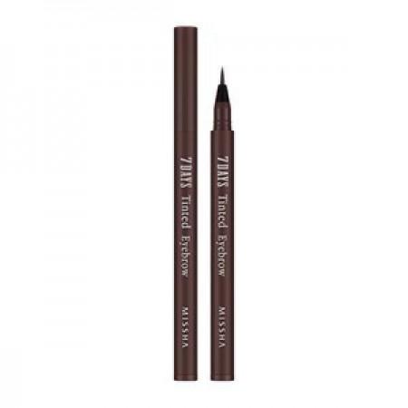 Missha Тинт-пленка для бровей 7Days Tinted Eyebrow Sepia Brown, 0,8 мл