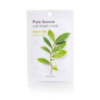 Missha Маска для лица с Pure Cell Sheet Mask Green Tea, 21 г