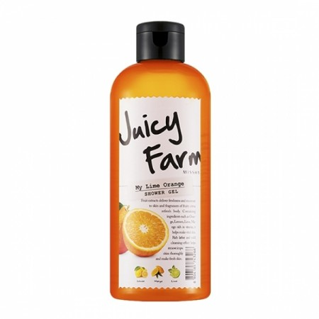 Missha Гель для душа Juicy Farm My Lime Orange, 300 мл