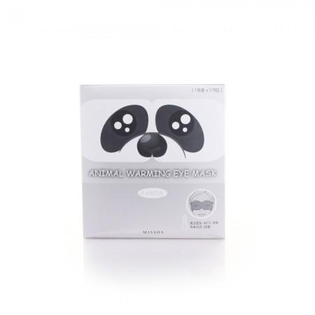 Missha Набор согревающих масок для глаз Panda Lavender, 5 шт.