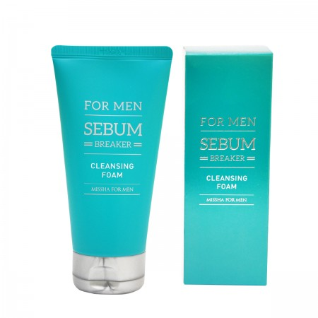 Missha Пенка для умывания For Men Sebum Breaker Cleansing Foam