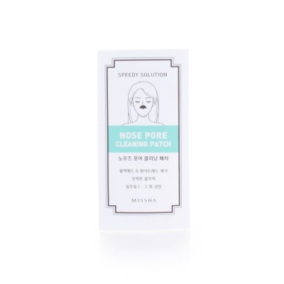 Missha Патчи для кожи на носу Nose Pore Cleaning Speedy Solution
