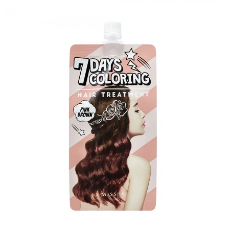 Missha Тонирующая краска для волос Seven Days Coloring Hair, 25 мл