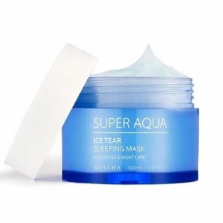 Missha Увлажняющая ночная маска для лица Aqua Ice Tear Sleeping