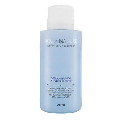 Apieu Смягчающий тонер Aqua Nature DeepSea Dewdrop Clearing Softener, 500 мл