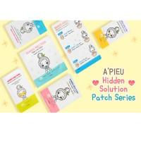 Apieu Патчи для очищения носа Hidden Solution Egg Nose Clearing Kit, 3 шт.