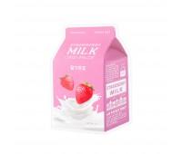 Apieu Тканевая маска с экстрактом клубники Strawberry Milk One-Pack, 21 мл
