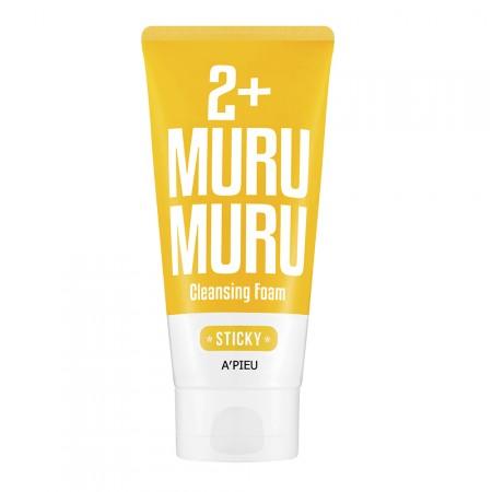 Apieu Восстанавливающая пена для умывания 2+ Murumuru Sticky Cleansing Foam, 130 мл
