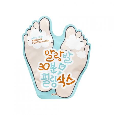 Apieu Носки-пилинг для стоп Soft Foot Peeling Socks, 40 мл