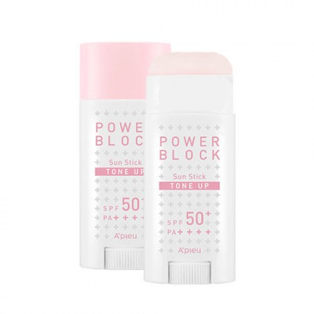 Apieu Выравнивающая солнцезащитная розовая база под макияж с дозатором SPF50 + / PA ++++, 15 г