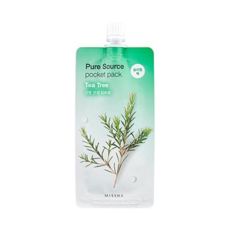 Missha Pure Source Pocket Pack Маска ночная с алоэ, 10 мл
