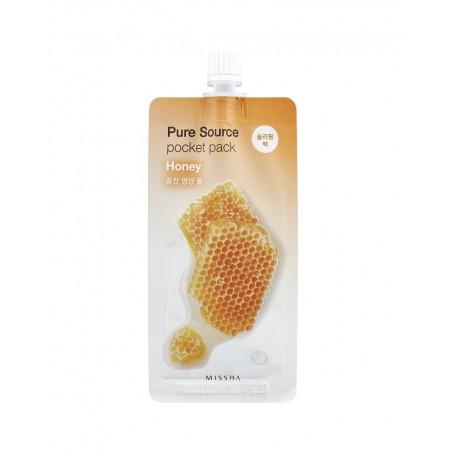 Missha Pure Source Pocket Pack Маска ночная с медом, 10 мл