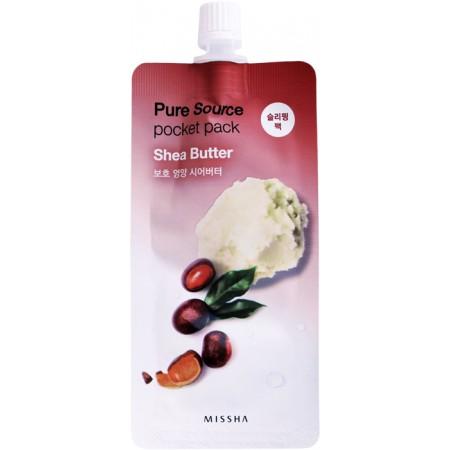 Missha Pure Source Pocket Pack Маска ночная с маслом ши, 10 мл