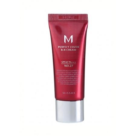 Missha M Perfect Cover BB-крем No.27 Медово-бежевый, 20 мл