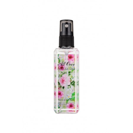 """Missha All Over парфюмированный спрей для тела """"Пион и яблок"""", 120мл"""