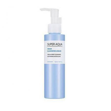 Missha Super Aqua Fresh Жидкость для очищения, 150 мл