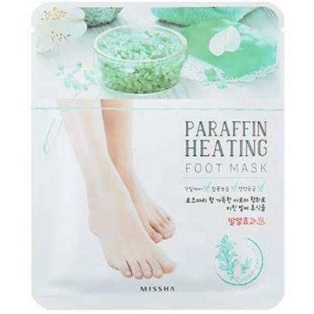 Missha Paraffin Heating Парафиновая маска для ног, 16 г