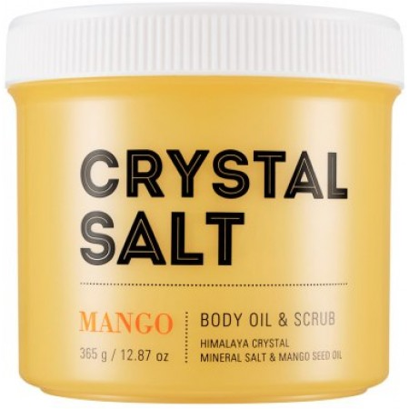 Missha Crystal Salt Скраб-масло для тела Манго, 500 мл