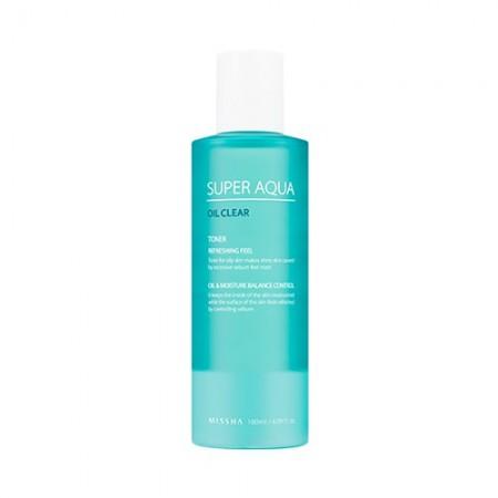 Missha Super Aqua Oil Clear Очищающий тоник, 180 мл