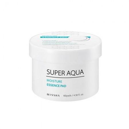 Missha Super Aqua Увлажняющие подушечки для лица, 60шт