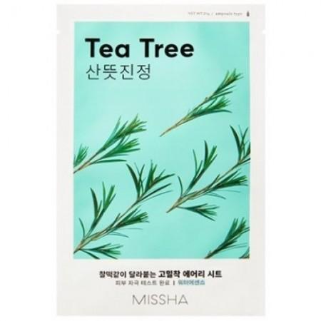 Missha Airy Fit Маска для лица Чайное дерево, 19 г