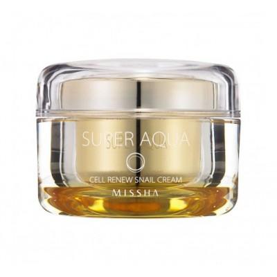 Missha Super Aqua Cell Renew Snail Крем для лица, 47мл