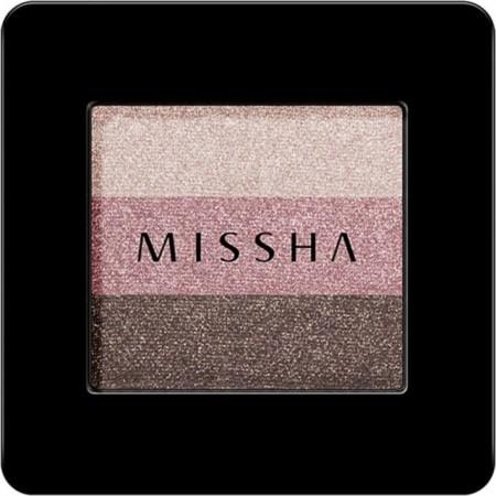 Missha Triple Eye Shadow 3 Colors East Pink Компактные тени для век тройные, №10, 2 гр.