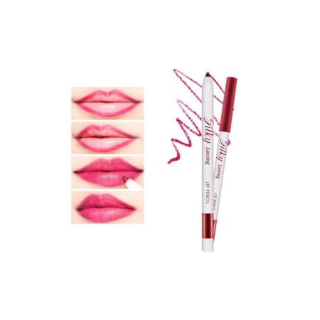 "Missha Silky Lasting Lip Pencil Melting Kiss Карандаш для губ ""Тающий Поцелуй"" RD03, 0,25 гр."