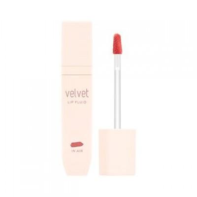 Missha Velvet Флюид для губ (CR02 / In Air), 4,5 мл