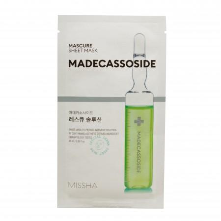 Missha Mascure Solution Тканевая спасательная маска, 27мл