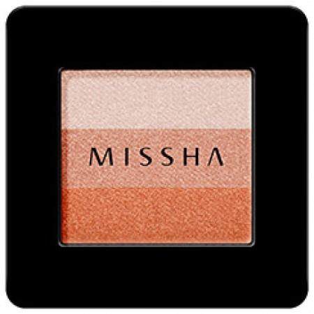 Missha Triple Eye Shadow 3 Colors Orange Parade Компактные тени для век тройные, №8, 2 гр.