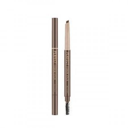 Missha Perfect Eyebrow Styler Brown Карандаш для бровей коричневый, с щеточкой, 0,35 гр.