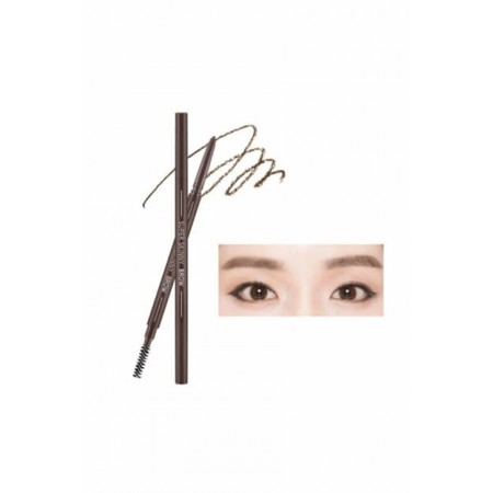 Missha Super Skinny Brow Dark Brown Карандаш для бровей темно-коричневый, 0,09 гр.