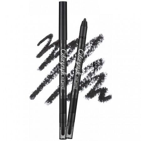 "Missha Colorgraph Eye Pencil Mr. Black Карандаш для глаз ""Мистер Чёрный"", 0,4 гр."