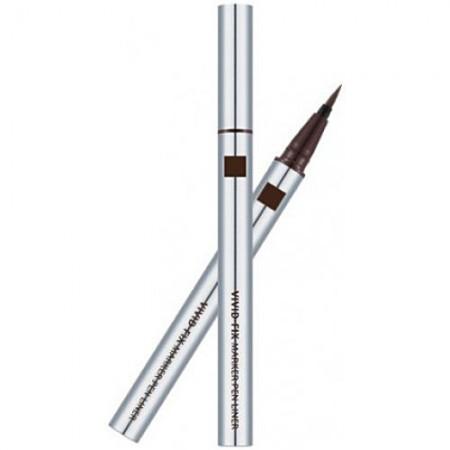 Missha Natural Fix Brush Pen Liner Brown Подводка для глаз коричневая, 0,6 гр.