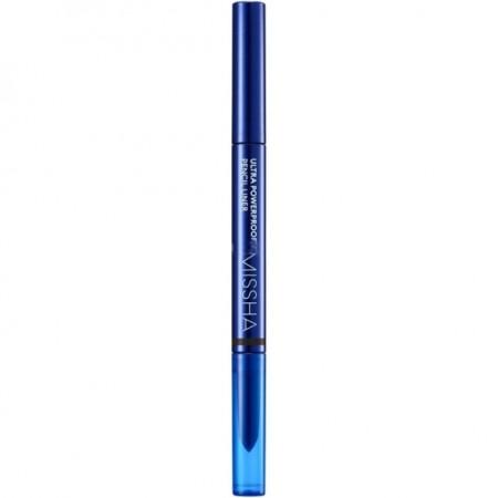 Missha Vivid Fix Brush Pen Liner Deep Brown Подводка-фломастер для глаз коричневая 0,6 гр.