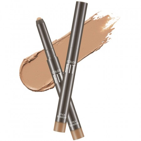 Missha Color Fit Stick Shadow Coconut Coffee Тени-карандаш для век сияющие, 1,1 гр.