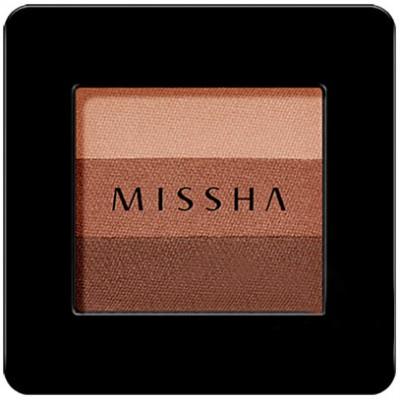 Missha Triple Eye Shadow 3 Colors Lady Milk Tea Компактные тени для век тройные, №13, 2 гр.
