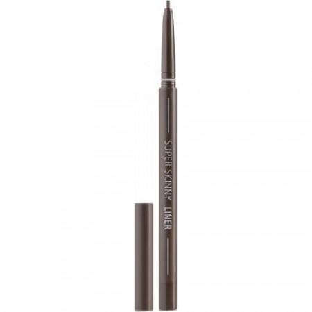 Missha Super Skinny Liner Deep Black Карандаш для глаз тонкий коричневый, 0,06 гр.