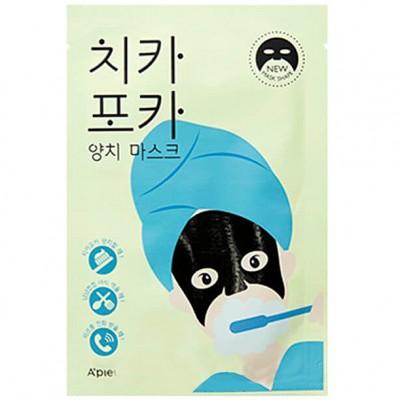 A'PIEU Chi Ka Po Ka Утренняя тканевая маска для лица, 17г