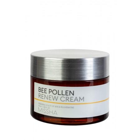 Missha Bee Pollen Renew Cream Крем для лица обновляющий, 50 мл.