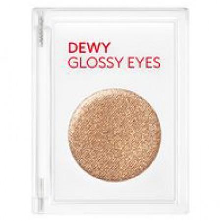 Missha Dewy Glossy Eyes Shooting Brown Компактные тени для век глянцевые, 2 гр.