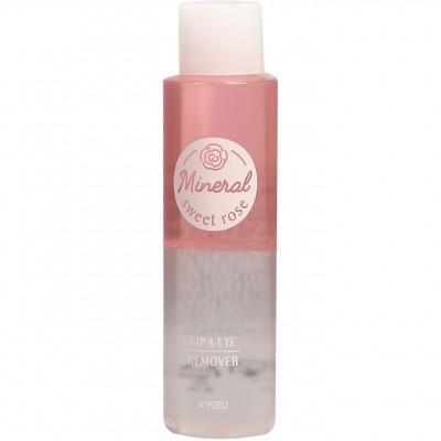 A'Pieu Mineral Lip&Eye средство для снятия макияжа (Sweet Rose), 100 мл