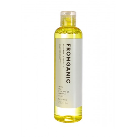 Missha Fromganic Body Soap Bright-C Гель для душа, 300 мл.
