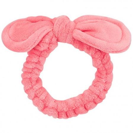 Missha Ribbon Hair Band Повязка для головы розовая с бантиком, 1 шт